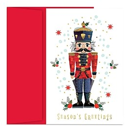 MASTERPIECE Nutcracker Holiday Cards Set of 18