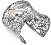John Hardy Sterling Silver & 18K Gold Legends Cobra Heritage Limited Edition Cuff Bracelet with Tsavorite