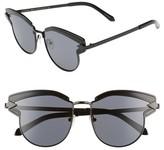 Karen Walker Women's Buccaneer 47Mm Round Sunglasses - Black