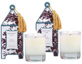 Seda France Figue de Orleans Mini Pagoda Candles (2 OZ) (Set of 2)