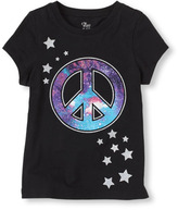 Children's Place Peace galaxy graphic tee
