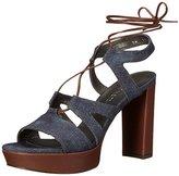 Stuart Weitzman Women's Tiegirlbingo Platform Sandal