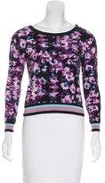 Splendid Girls' Abstract Print Crew Neck Sweatshirt