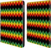 Head Case Designs Rasta Colour Patterns Leather Book Wallet Case Cover for