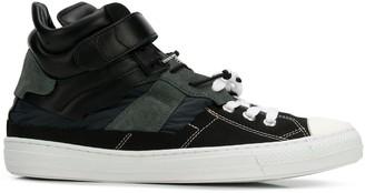 Maison Margiela Contrast Lace-Up Sneakers