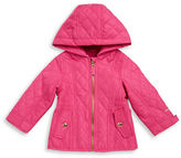 London Fog Baby Girls Quilted Jacket