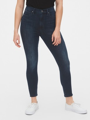 Gap Sky High True Skinny Ankle Jeans with Secret Smoothing Pockets in 360 Stretch