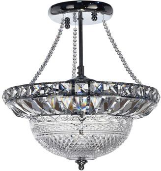Dale Tiffany Crystal Hills Inverted Pendant