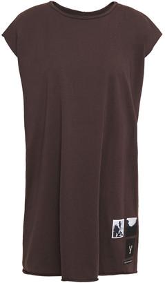 Rick Owens Appliqued Cotton-jersey Tunic