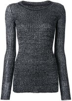 Isabel Marant fitted sweater - women - Linen/Flax/Polyamide/Viscose/Wool - 36