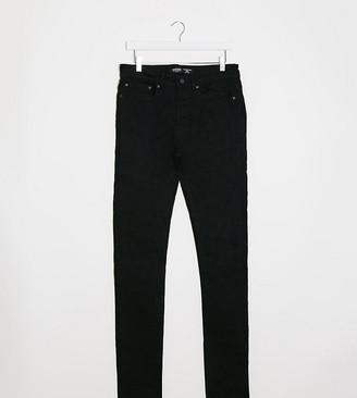 Burton Menswear Big & Tall super skinny jeans in black