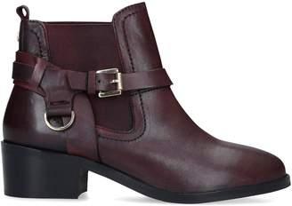Carvela Leather Saddle Western Boots 45