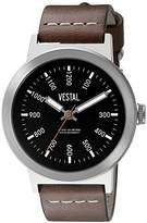 Vestal Unisex SLR3L001 The Retrofocus Analog Display Quartz Brown Watch