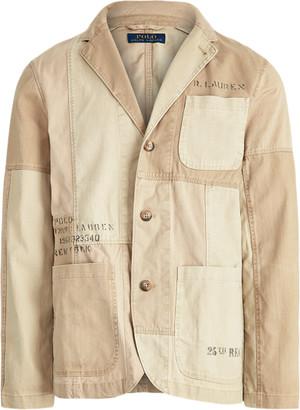 Ralph Lauren Utility Patchwork Sport Coat