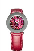Jowissa Women's J1.063.L Safira 999 Maroon Mother-of-Pearl Dial Patent Leather Watch