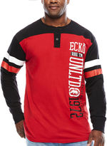 Ecko Unlimited Unltd. Rhino Elite Long-Sleeve Henley Tee - Big & Tall