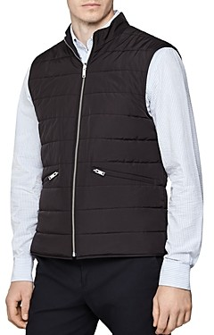 Reiss Voyage Reversible Quilted Vest