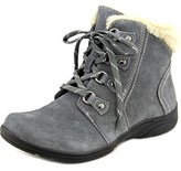 Earth Origins Crowley Women Round Toe Suede Gray Ankle Boot.