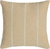 "Donna Karan Home Moonscape Bead Stripe Pillow, 12""Sq."