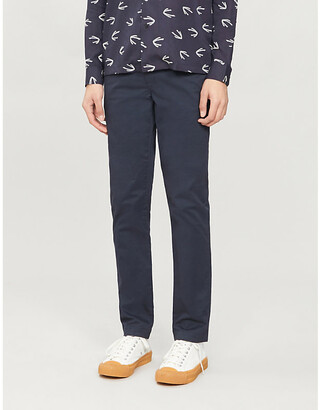 Ted Baker Slim-fit tapered cotton-blend chinos