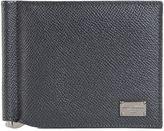 Dolce & Gabbana Grey Dauphine Leather Wallet