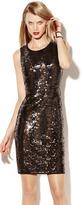 Vince Camuto Sleeveless Sequin Dress