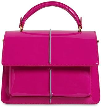 Marni Small Attache Patent Leather Bag