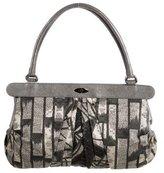 Antonio Marras Leather-Trimmed Printed Bag