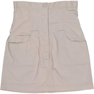 Chanel Beige Cotton Skirts