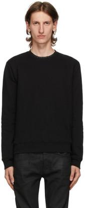 Saint Laurent Black Fleece Sweatshirt
