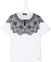DSQUARED2 teen printed T-shirt - kids - Cotton - 14 yrs