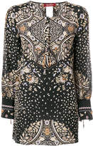 Max Mara floral print tunic top