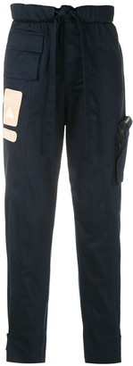 Piet Logo Patch Cargo Trousers