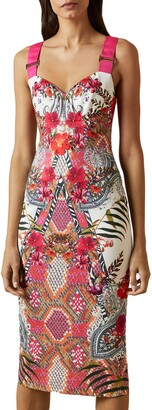 Ted Baker Kloeey Samba Body-Con Dress