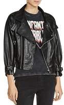Maje Beline Leather Jacket