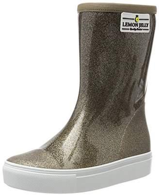 Lemon Jelly Girls' Fairy Wellington Boots, Black 01 2/3UK Child