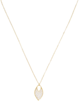 Ila Tad 14K Yellow Gold & 0.29 Total Ct. Diamond Marquis Pendant Necklace