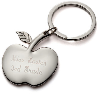 Personalized Planet Key Chains - Teacher's Apple Personalized Key Chain