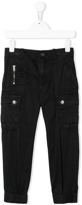 Diesel slim cargo trousers