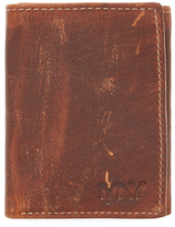 Andrew Marc Rugged Wash Trifold Wallet