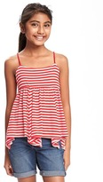 Old Navy Smocked Braided-Strap Tank for Girls