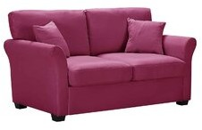 """Thumbnail for your product : Red Barrel Studio Elaise 62.2"""" Flared Arm Loveseat Fabric: Light Gray"""