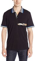 Robert Graham Men's Car Race Polo Shirt