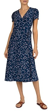 Gerard Darel Sara Floral Wrap Dress