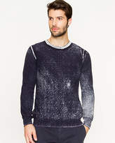 Le Château Cotton Faded Pattern Sweater