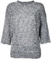 Joseph three-quarters sleeve jumper - women - Cotton/Polyamide/Polyester - M
