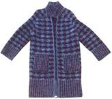 Chanel Red Wool Coat for Women