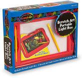 Melissa & Doug Toddler 'Scratch Art' Portable Light Box