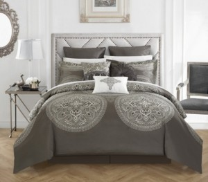 Chic Home Orchard Place 9-Pc Queen Comforter Set Bedding