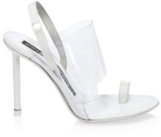 Alexander Wang Kaia PVC Slingback Sandals